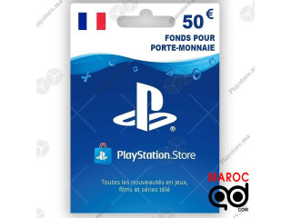 Playstation Store 50 Euro (Fr) France