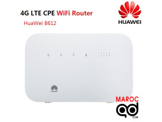 Routeur Libre 4G/LTE cat6-Huawei B612- wifi 300MBS